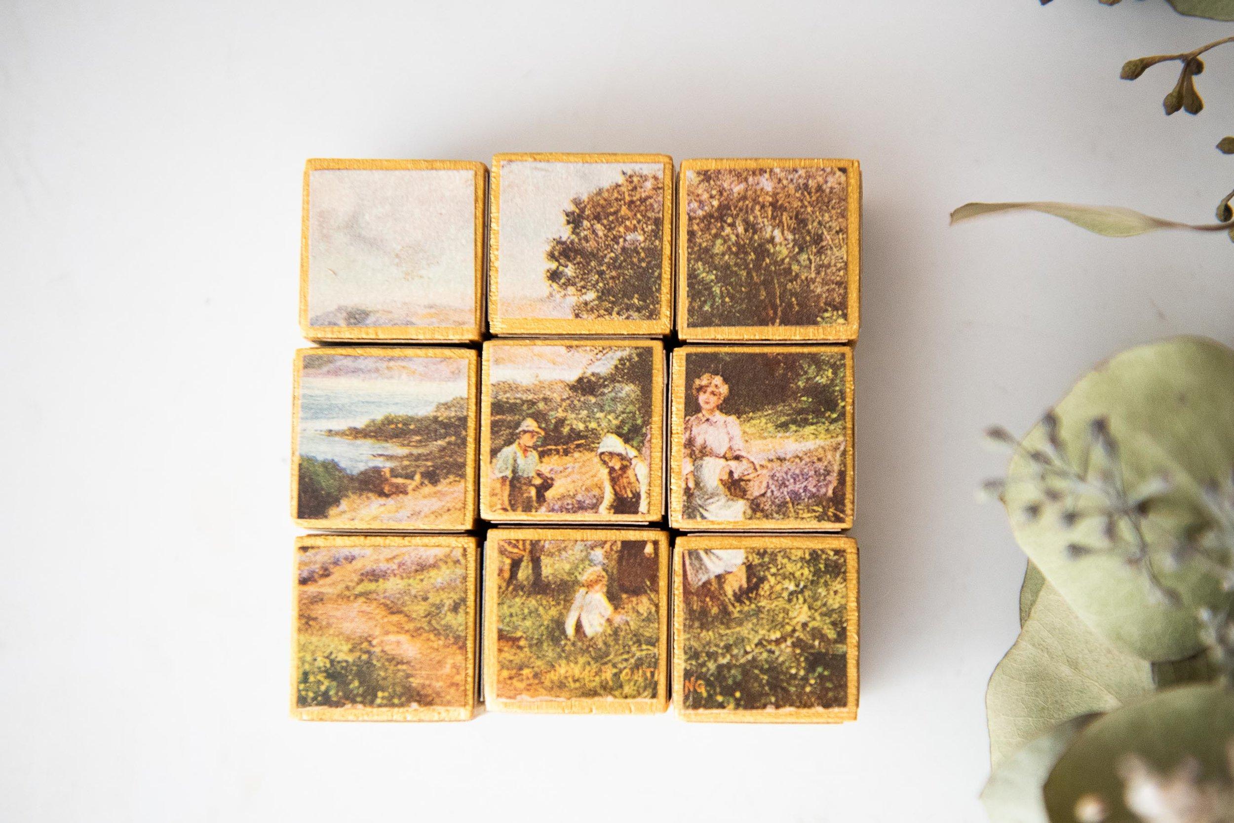 Vintage Postcard Puzzle
