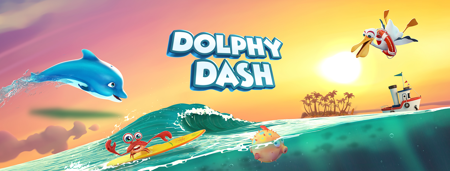 Dolphy Dash - About this game link