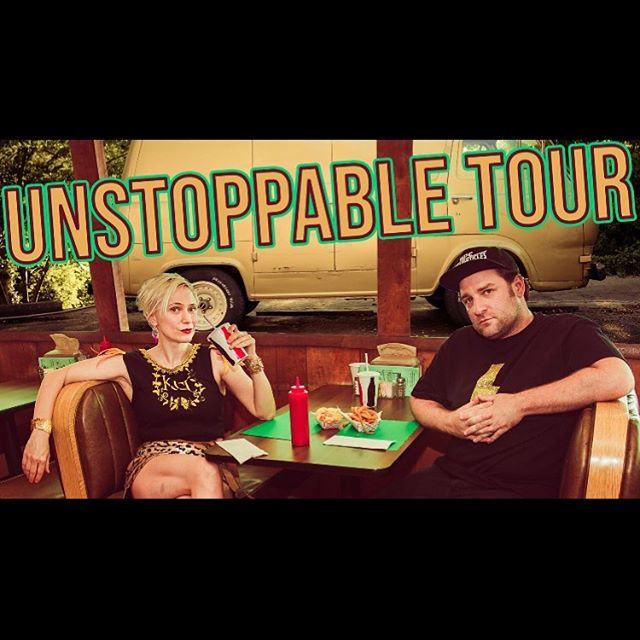 Can't stop won't stop un stop (able tour) tonight at the Kaleidoscope!