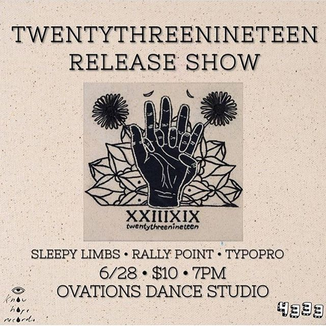 Tonight it's goin down!!! Jersey peeps come help us celebrate the release of a righteous addition to the @know_hope_records family: @xxiiixix
