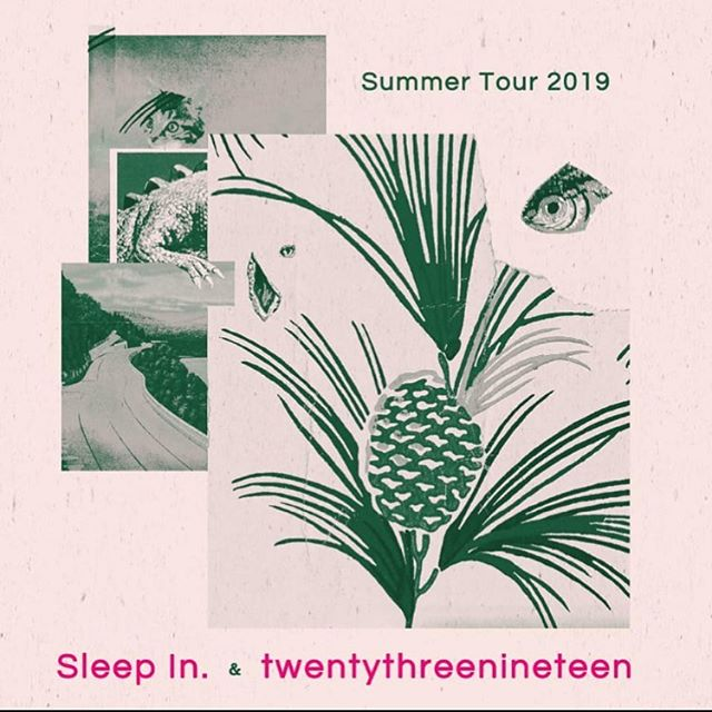 Tonight in our happy place with @sleepinband @xxiiixix and @cavepaintmusic