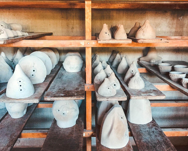 Unfinished ceramic bells