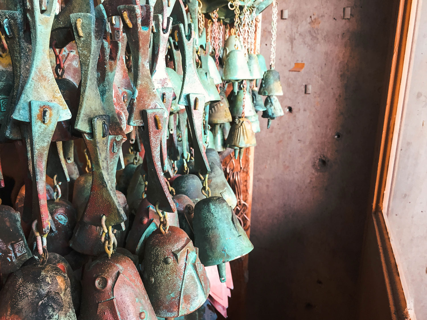 What the finished bells look like.
