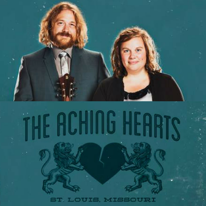 Ryan Spearman and Kelly Wells combine to form The Aching Hearts. Old-time Country Duo.