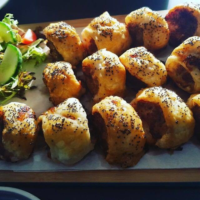 Sausage Rolls, made using award winning sausage meat!