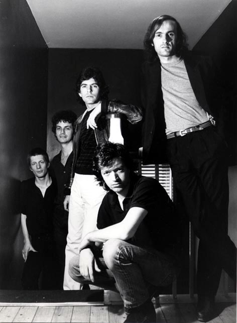 The band in 1982