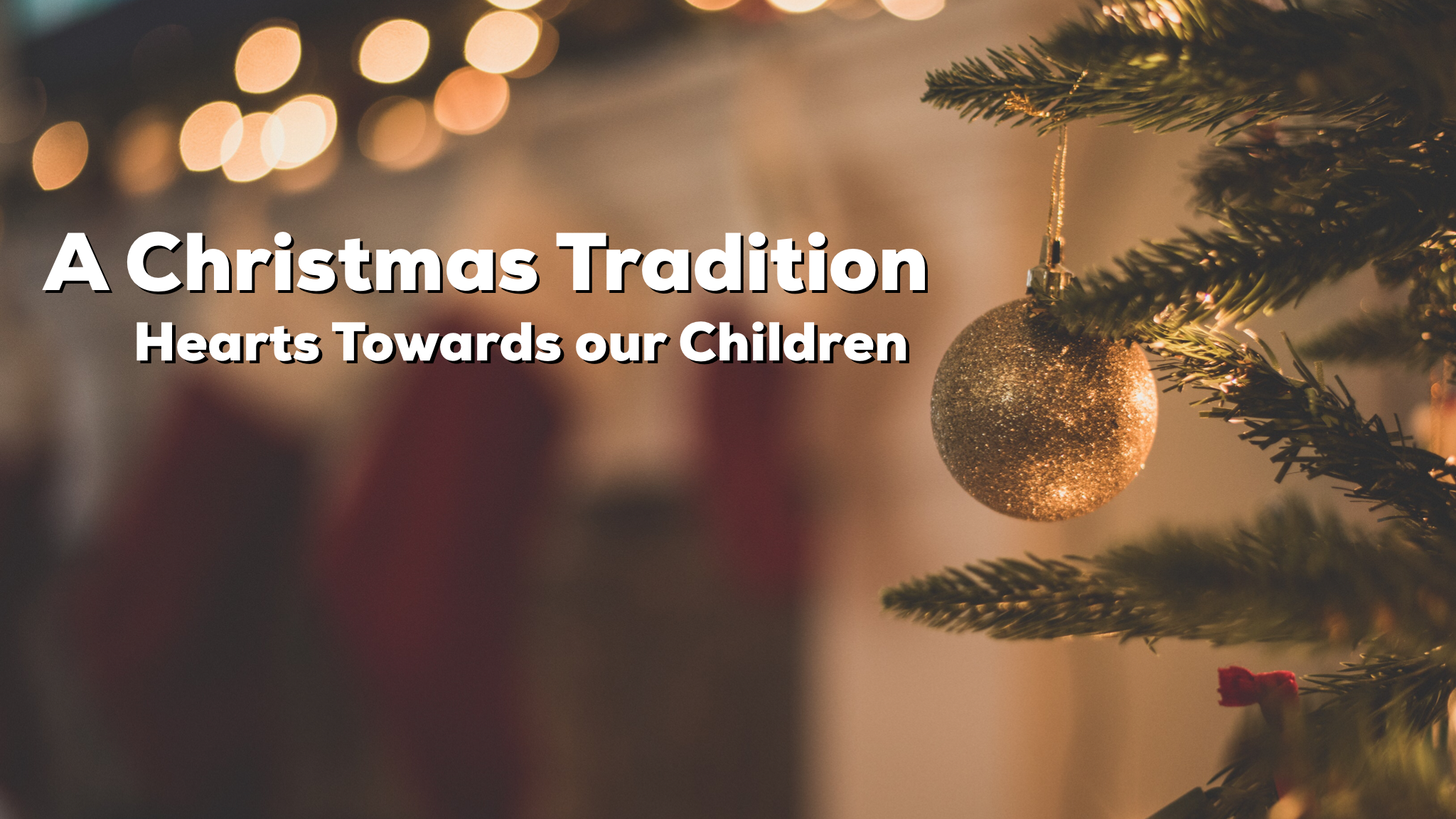 Reid shares a family tradition to connect with your kids and point them to Jesus around the holidays.