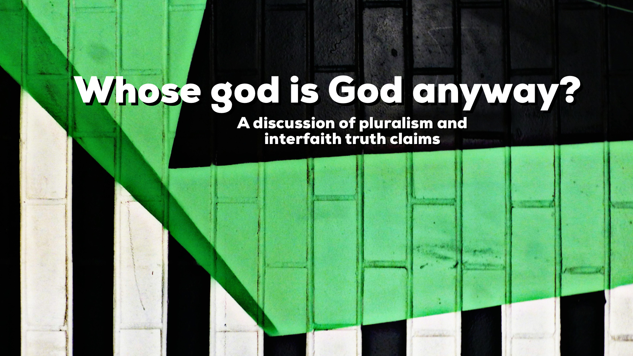 Reid and Jesse discuss contemporary religious pluralism, interfaith witness, and truth claims