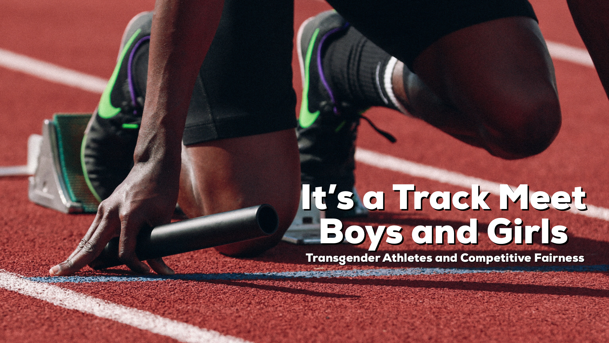 Reid and Jesse discuss biological males and females competing against one another in sanctioned athletic events when one identifies as transgender.