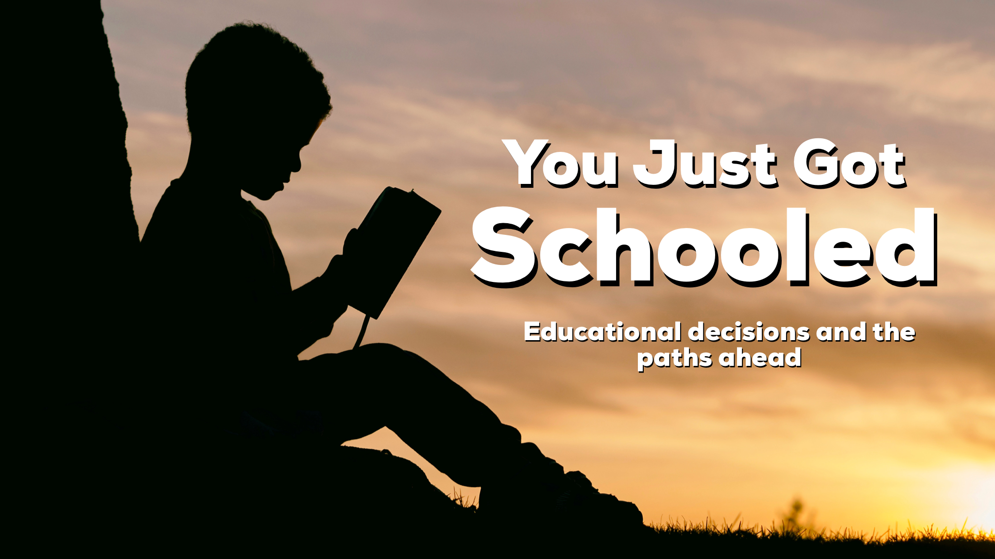 Reid and Jesse discuss educational choices and the attending difficulties and encouragements associated with each path.
