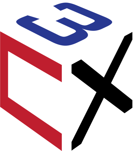 The First C3X Logo (2017)