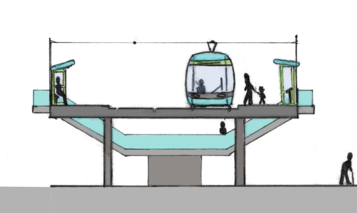 Sheppey Light Rail - My experience using public transport to get to Sheerness inspired me to design a Light Rail System for the Isle of Sheppey, as part of this project.