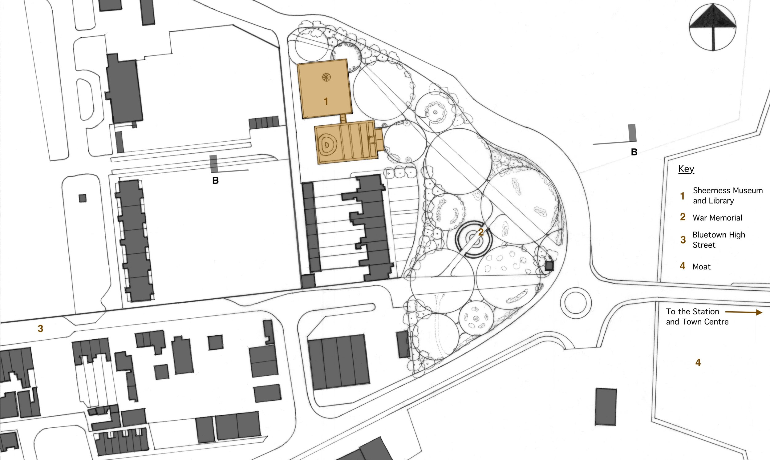 Site Plan and landscaping.