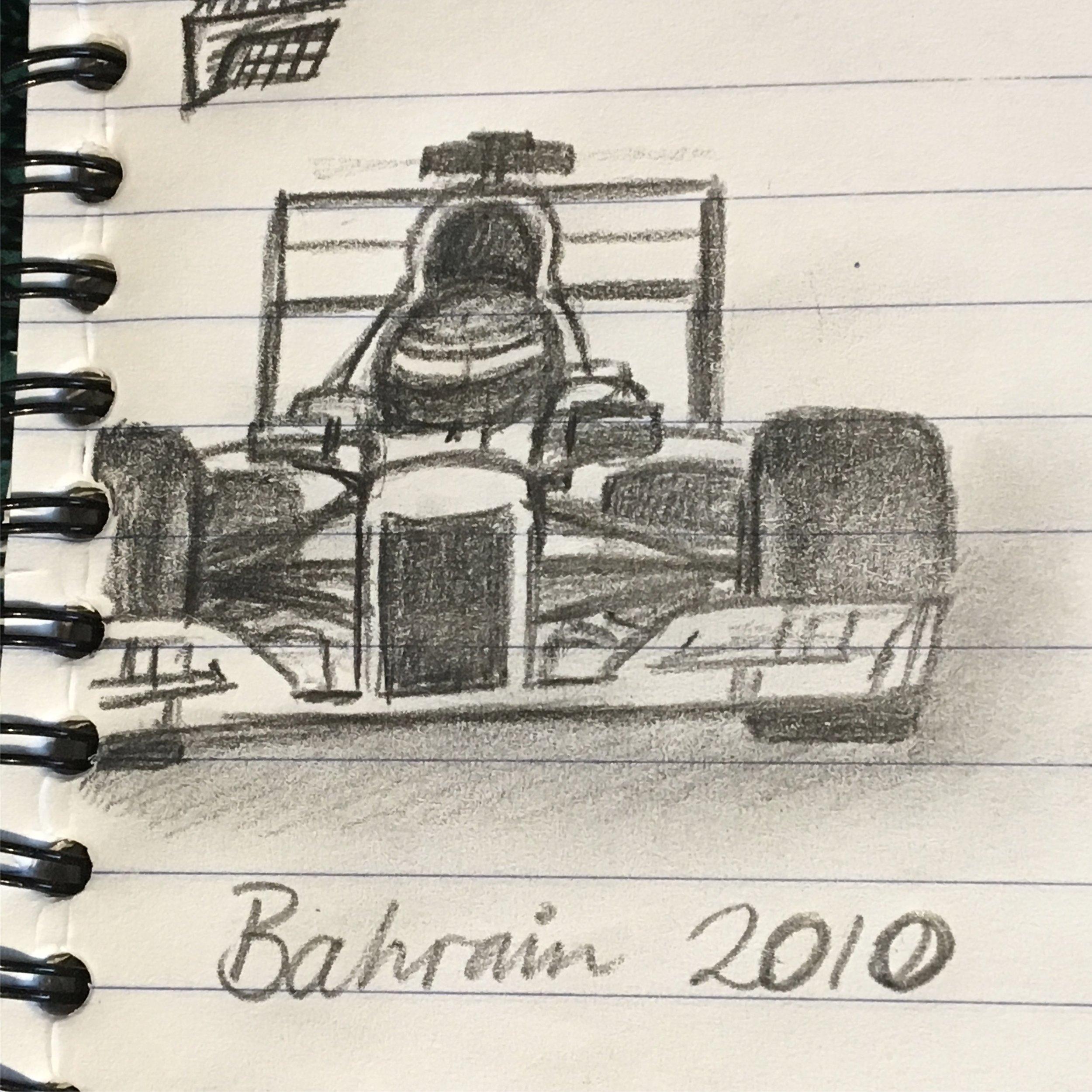 2010 Formula 1 Car