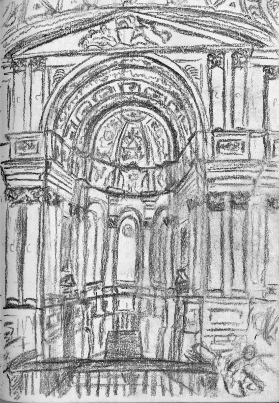 St Mary le Strand: Interior