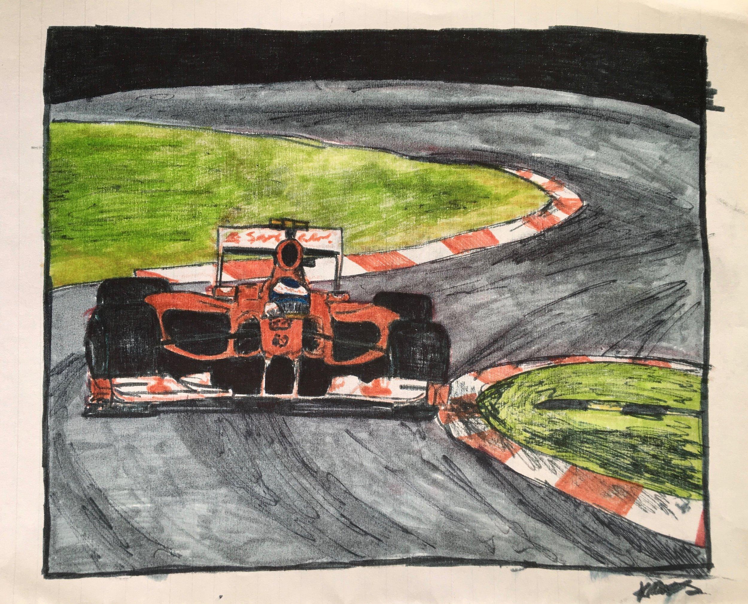 Alonso, Monza 2010