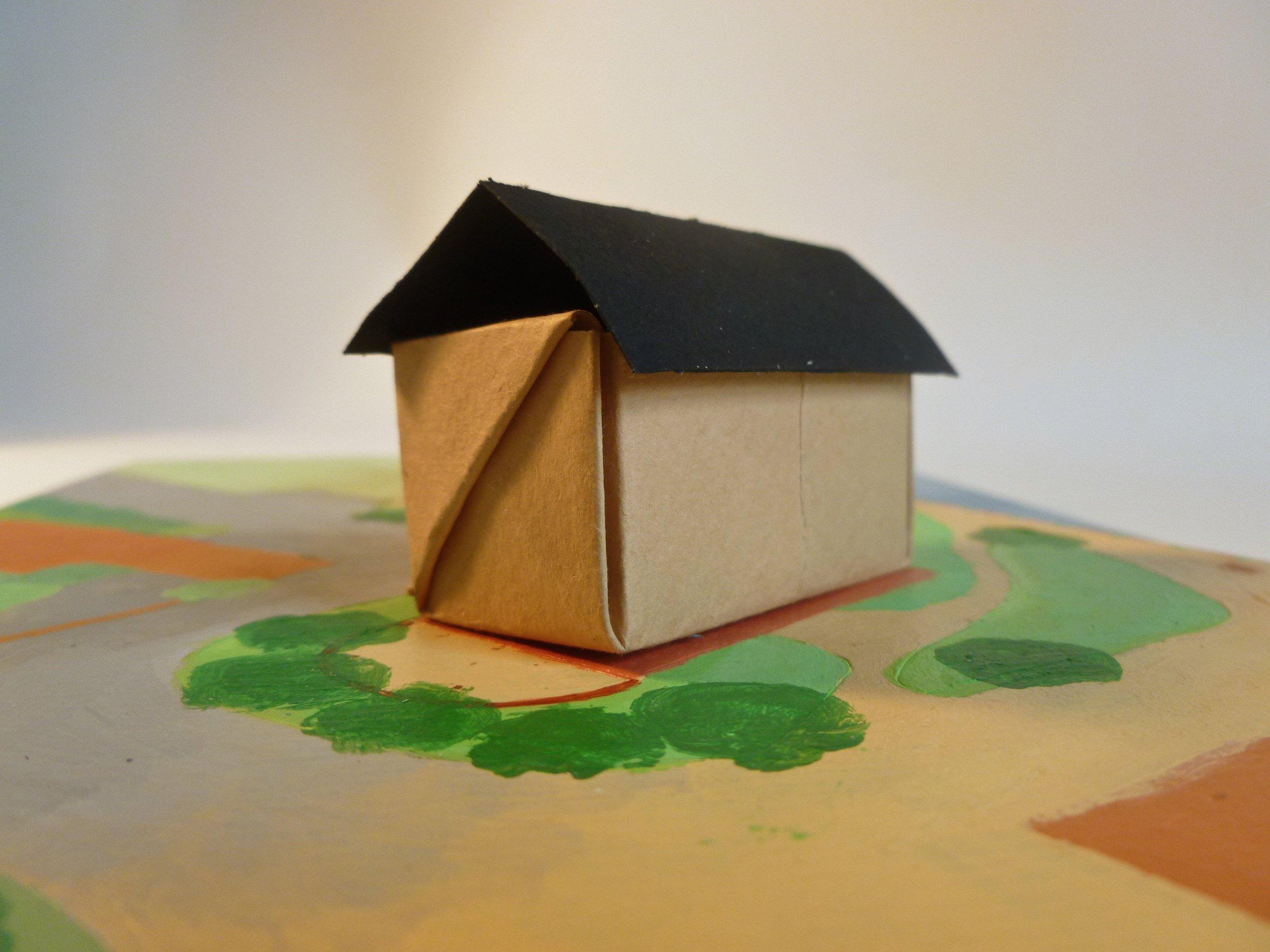 Site Model - Faversham Creek Housing