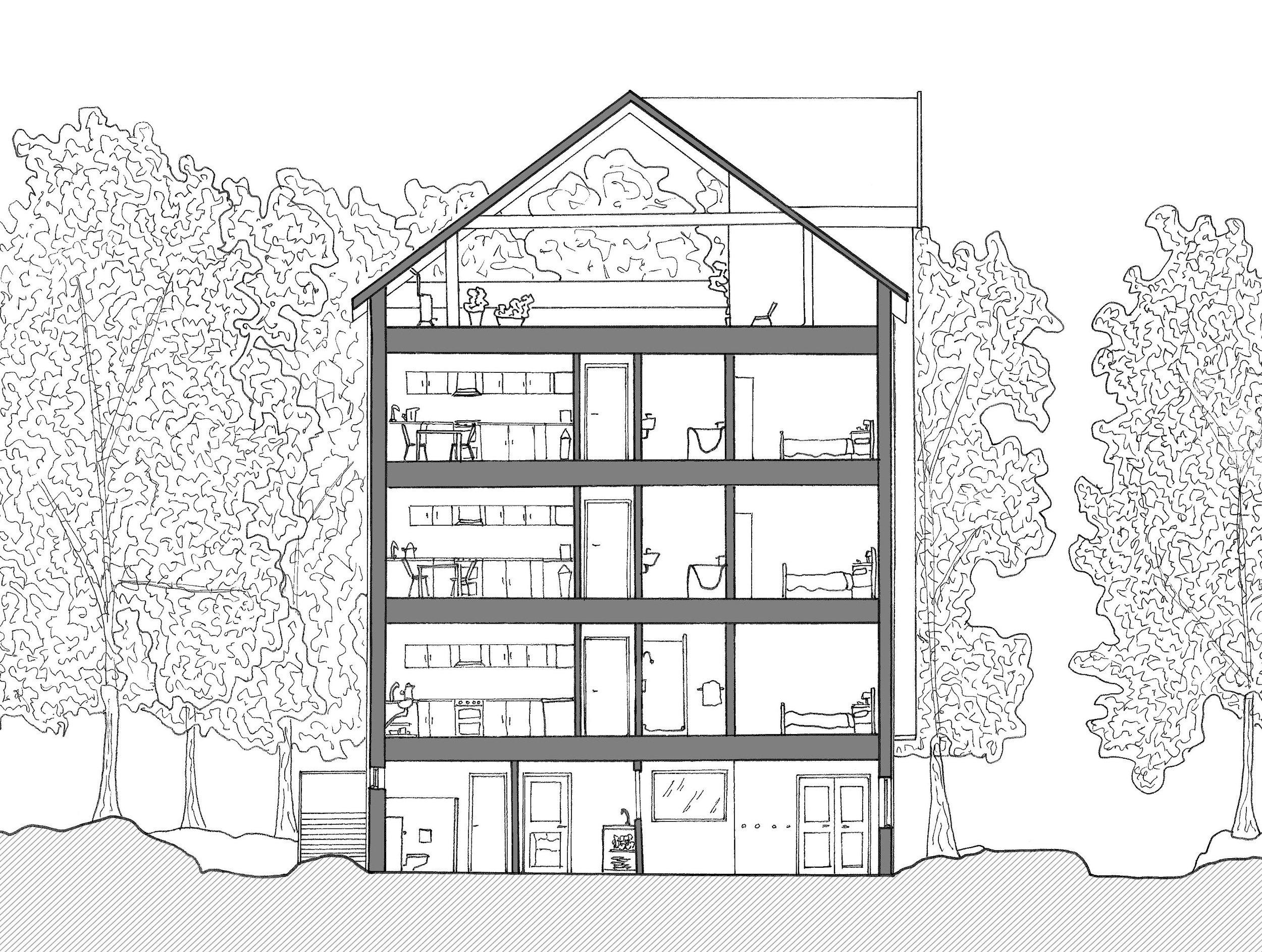Orthographics - Faversham Creek Housing