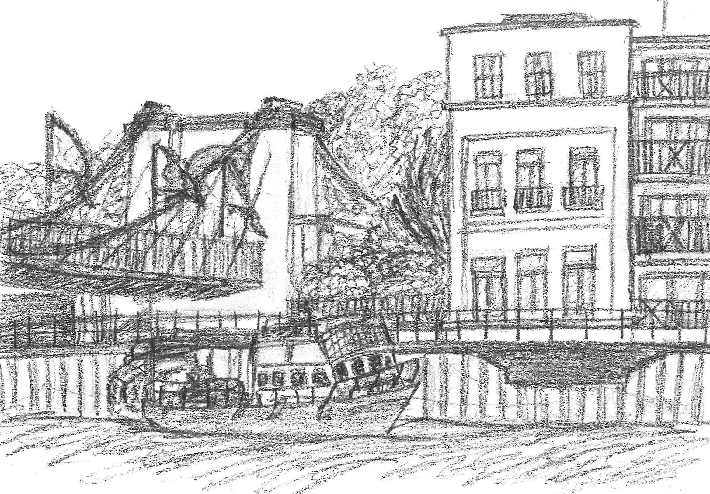 Victoria Bridge & the River Avon