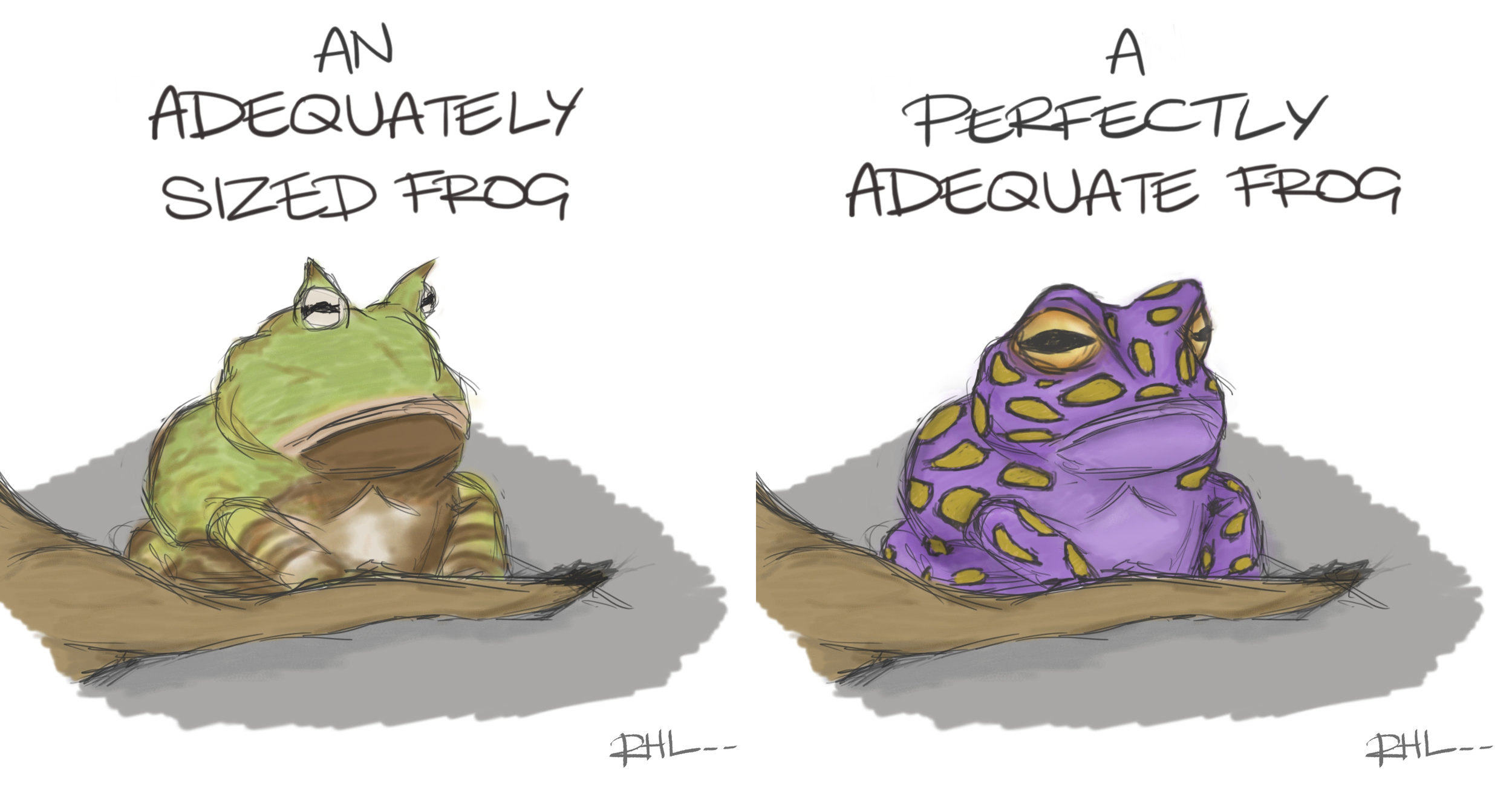 Adequate Frogs
