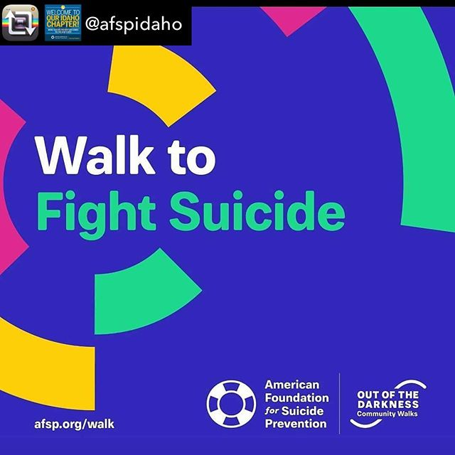Repost from @afspidaho - Tomorrow is the walk! Are your teams ready?! What are your  team names? . Online registration is closed but you can still join us by registering in the morning at the walk. . Location: Julius M. Kleiner Memorial Park in Meridian, Idaho, adjacent to The Village at Eagle and Fairview. . Check-in/Registration Time: 8:30 am Saturday, October 13, 2018 Ceremony and Walk Begins: 10:00 am Walk Ends & Closing Ceremony: 12:00 pm Walk Distance: approx 3 miles. . Family and pet friendly.