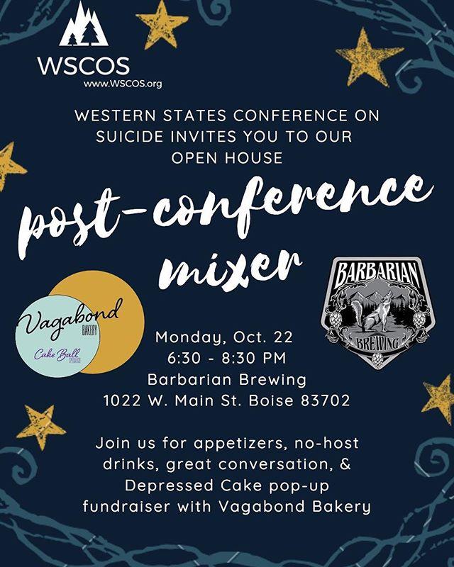 Monday night plans? 🎂🍰🎂🍰🎂🍰🍻 #WSCOS