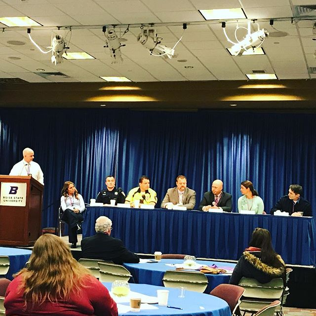 The Western States Conference in Suicide is under way! Thank you to the panels of first responders and school based program advises for sharing their day and insight with us. #zerosuicIDe #bethere #wscos #powerofone