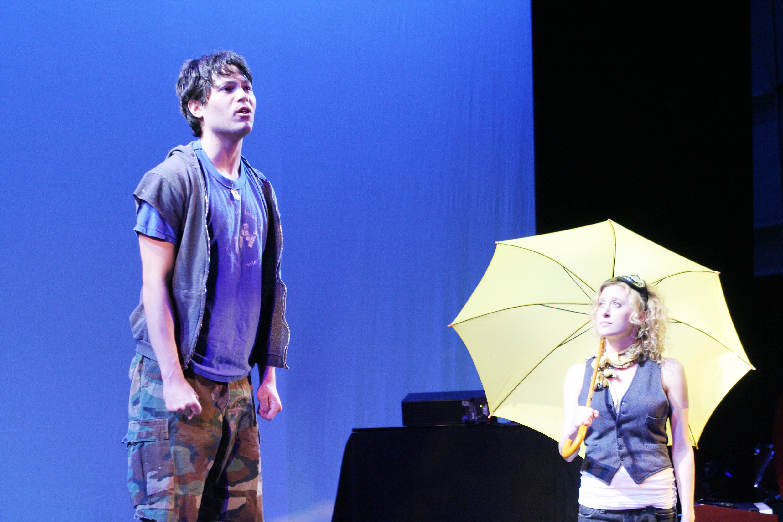 2007 NYMF Production. Jason Tam & Cassie Levy. Photo by Lia Chang.