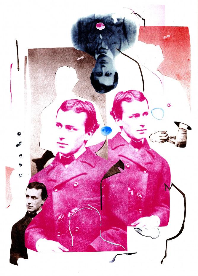 Spolia Magazine cover for Henry James Tribute Album