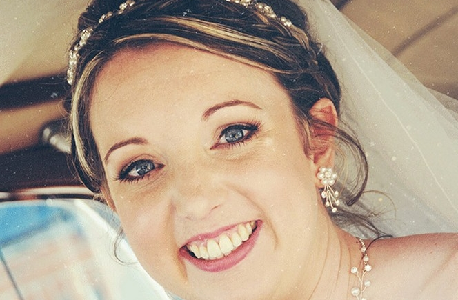 Lou - Thank you so much for my hair and make-up on my wedding day. I felt amazing and loved the look. Both lasted really well all day and I love the false lashes! You were clam in all the frenzy that occured!Would happily recommend you to others,Love Lou x
