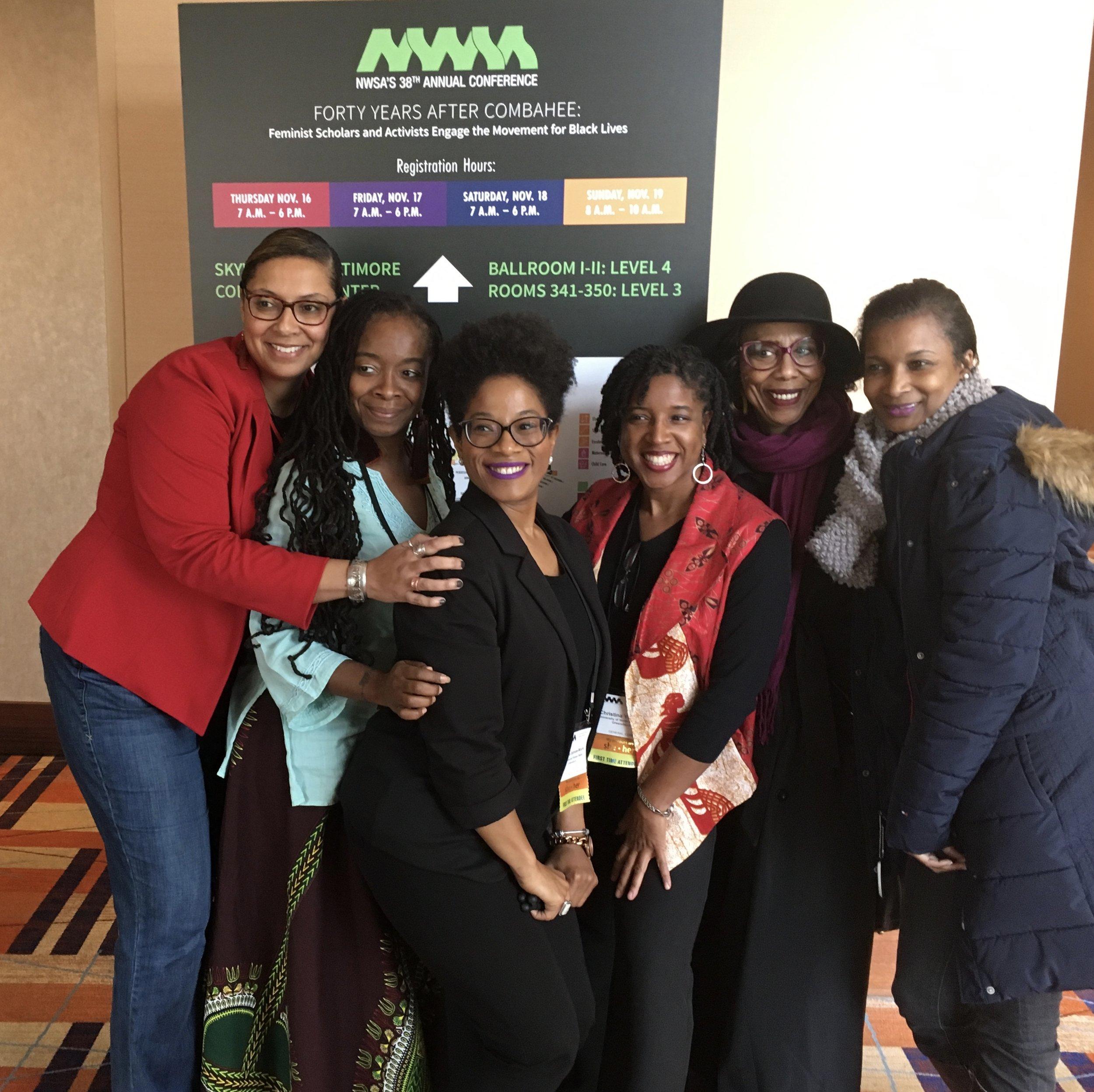 National Women's Studies Association Presenter -
