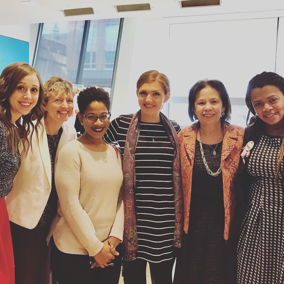 Me with colleagues at the Power to Decide convening of national expert panelists. Stay tuned for more information in 2018!