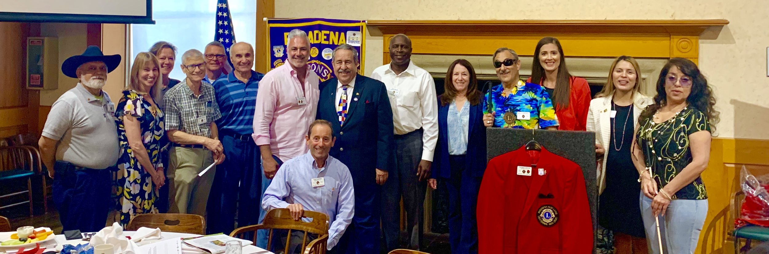 The Pasadena Police Foundation was recently awarded a grant from the Pasadena Host Lions Club Memorial Trust to help support the Kids Safety Academy. PPF board member Gilbert Mares accepted the award on our behalf at the August 6, 2019 Lions Club meeting in Pasadena.