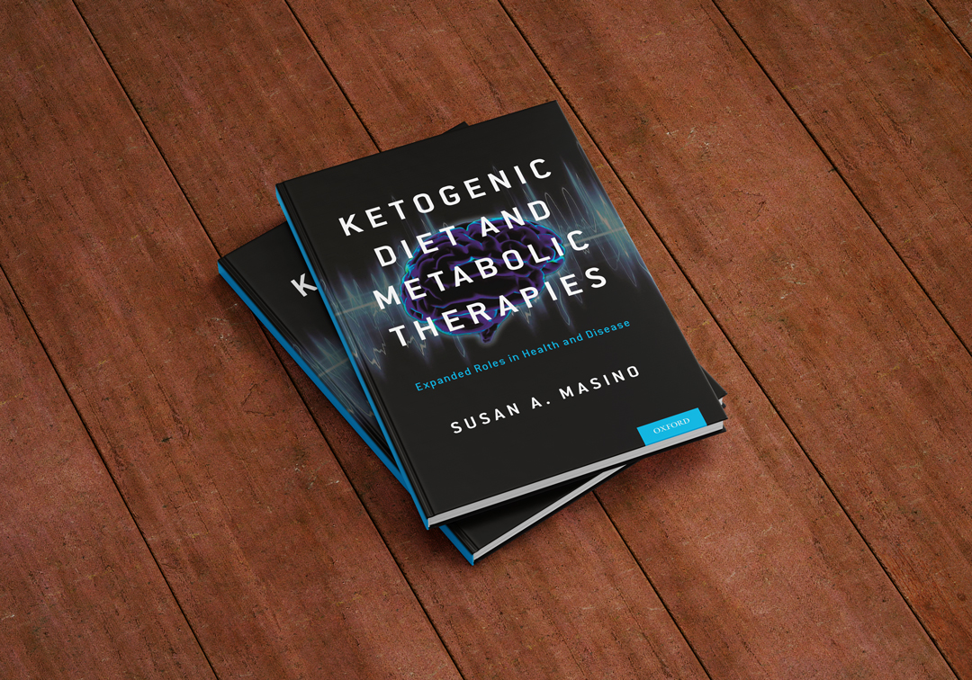 Ketogenic Diet and Metabolic Therapies:  Book Cover Design