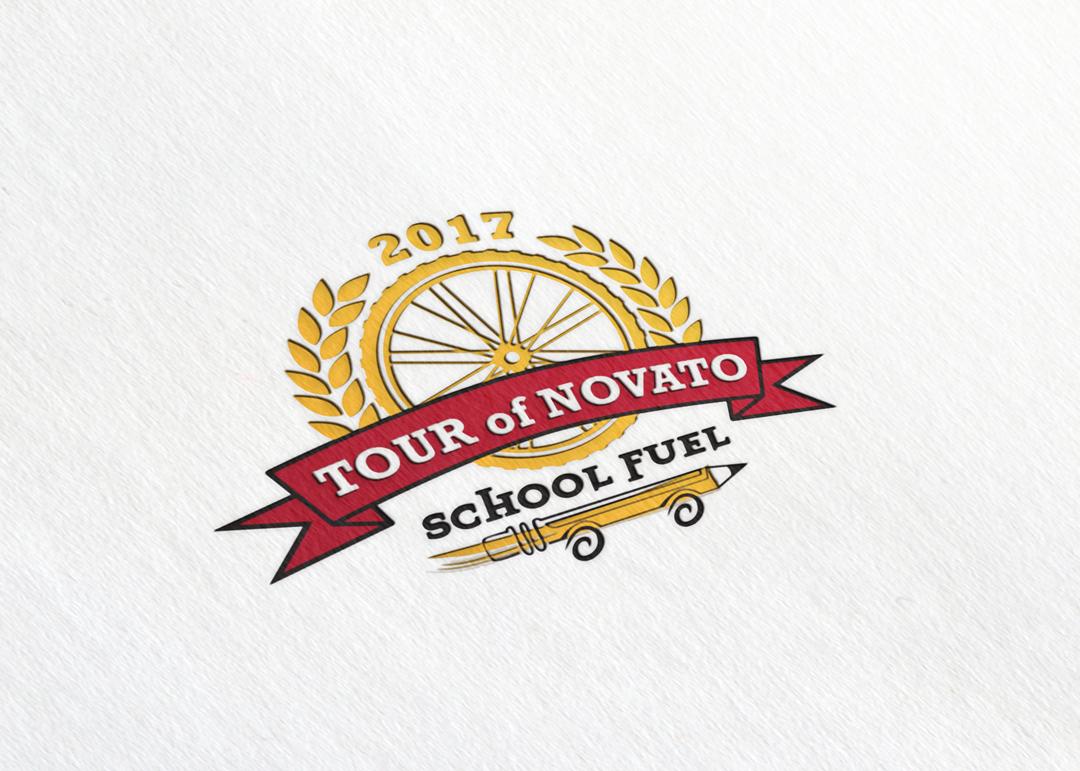 Tour of Novato School Fuel:  Logo Design