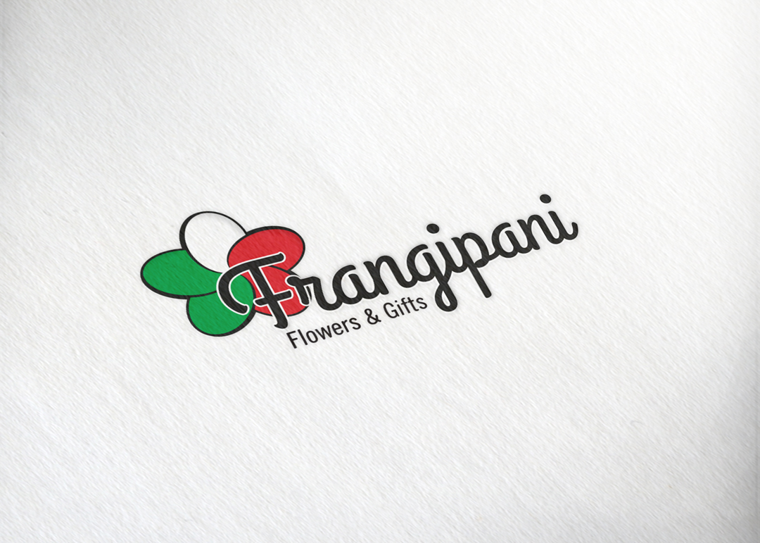Frangipani Flowers & Gifts:  Full Logo