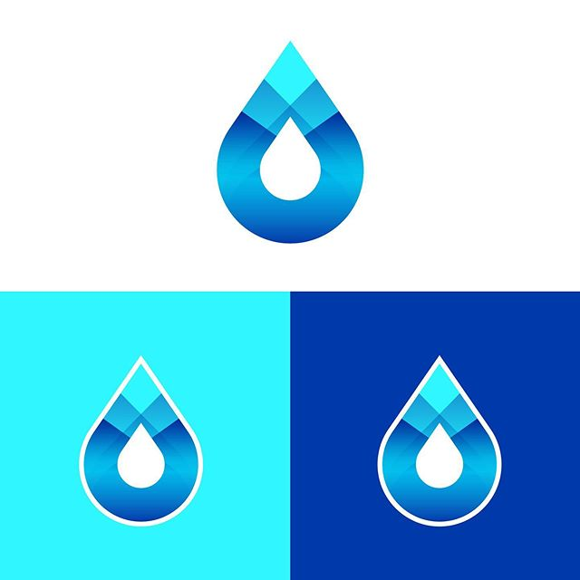 Water drop logo concept color variations 💧 • 👉 Available for commission work • 📧 ryan@mccarrongraphics.com • • • • #mccarrongraphics #logo #logos #logodesigns #logodesigner #logoideas #logoconcept #logoinspire #logomaker #logobrand #logodaily #logopedia #logotype #logonew #designlogo #visualidentity #logoawesome #identitydesign #brandingdesign #logoinspirations #startup #creativeagency #logodesigners #graphicdesigner #freelance #freelancer #logoworlddesigners #logodesignersclub #logobloom #logolearn