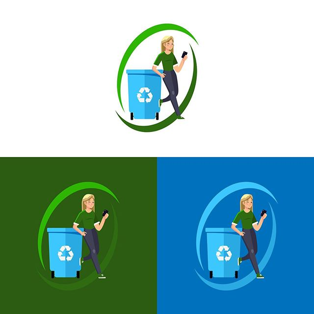 Mascot logo design for @therecyclingmillennial ♻️ check her page out for tips and tricks on how to live a green lifestyle! • 👉 Available for commission work • 📧 ryan@mccarrongraphics.com • • • • #mccarrongraphics #logo #logos #logodesigns #logodesigner #logoideas #logoconcept #logoinspire #logomaker #logobrand #logodaily #logopedia #logotype #logonew #designlogo #visualidentity #logoawesome #identitydesign #brandingdesign #logoinspirations #startup #creativeagency #logodesigners #graphicdesigner #freelance #freelancer #logoworlddesigners #logodesignersclub #logobloom #logolearn
