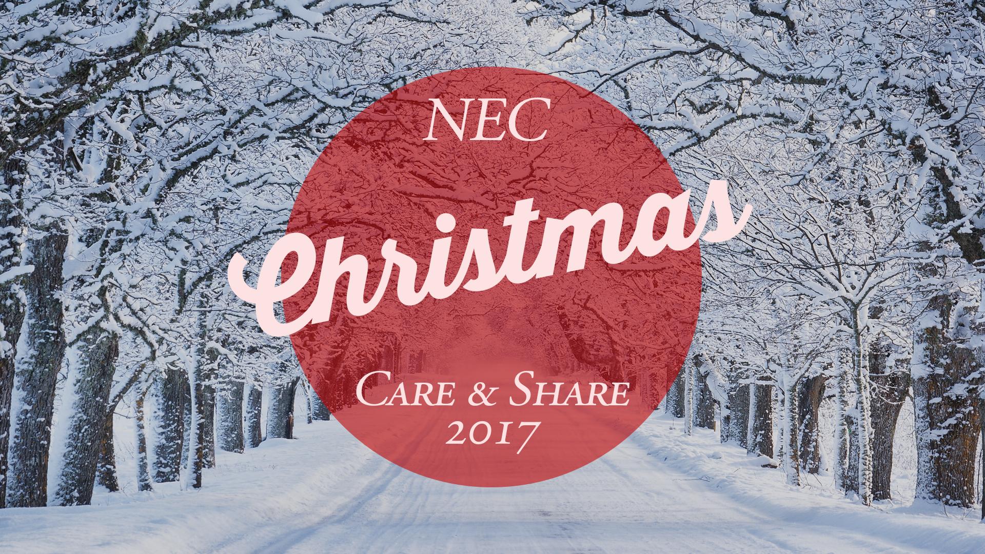 NEC Christmas Care & Share 2017