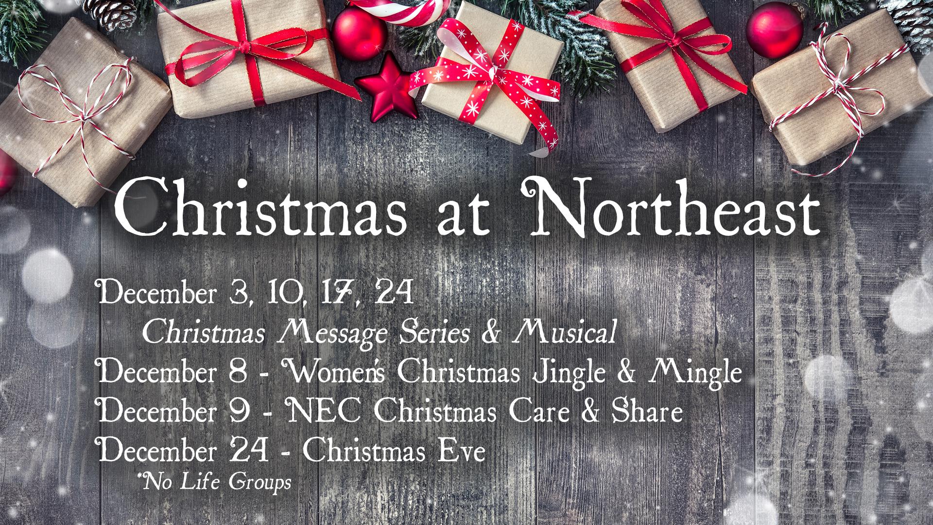 Christmas at Northeast
