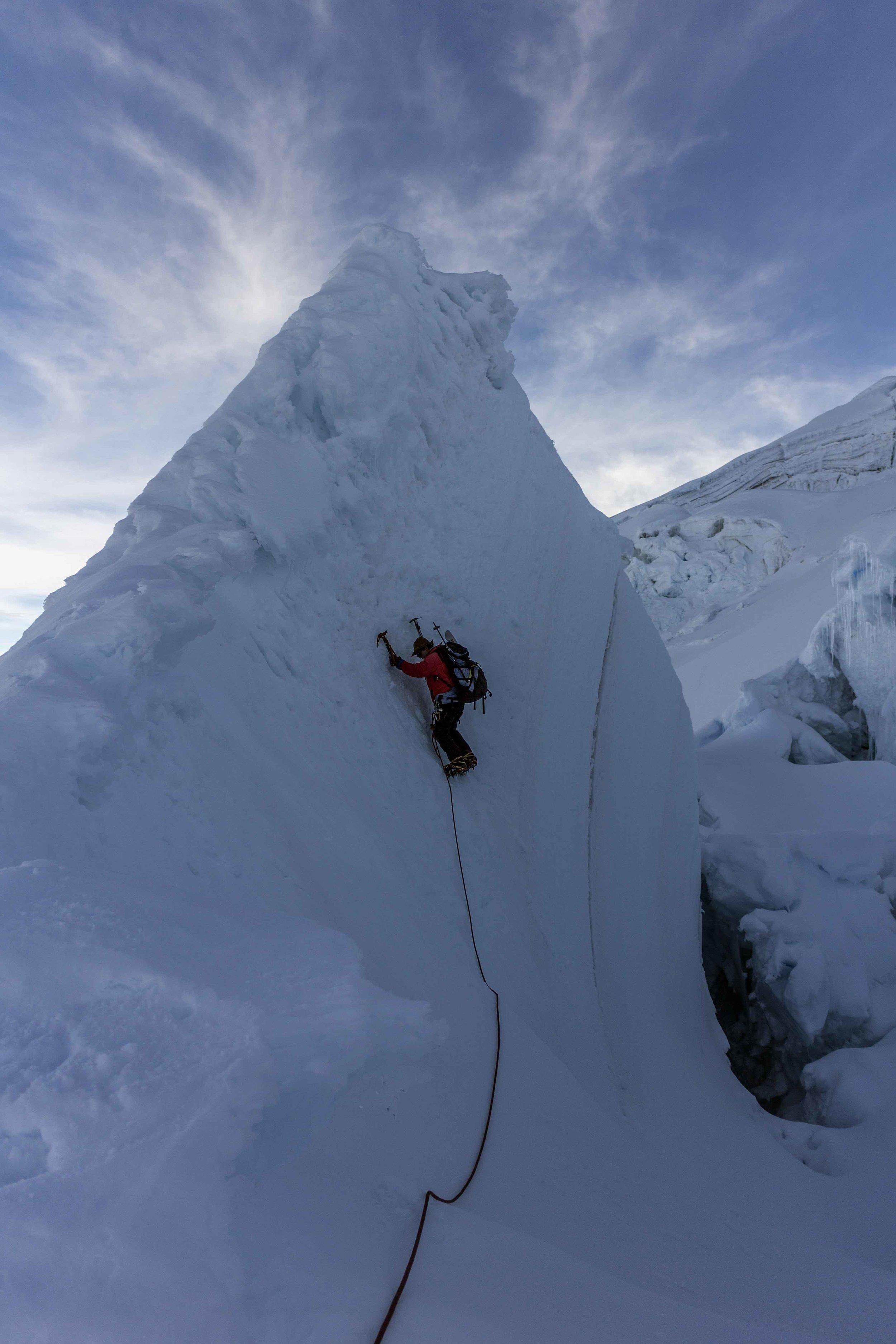 andes volcano ecuador mountaineering hiking