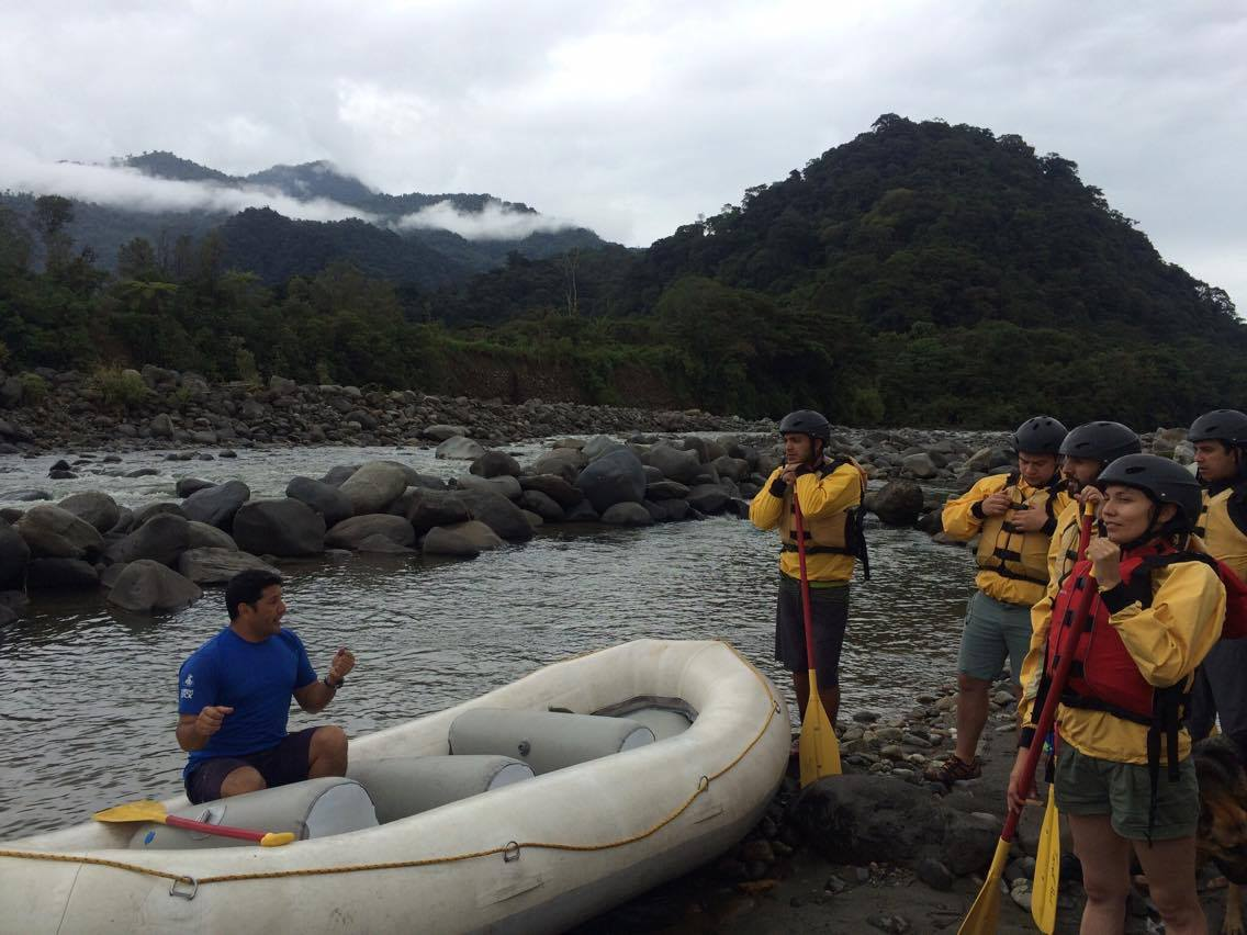 rafting courses and tours