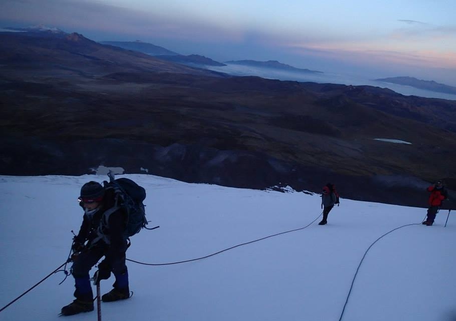 summit chimborazo