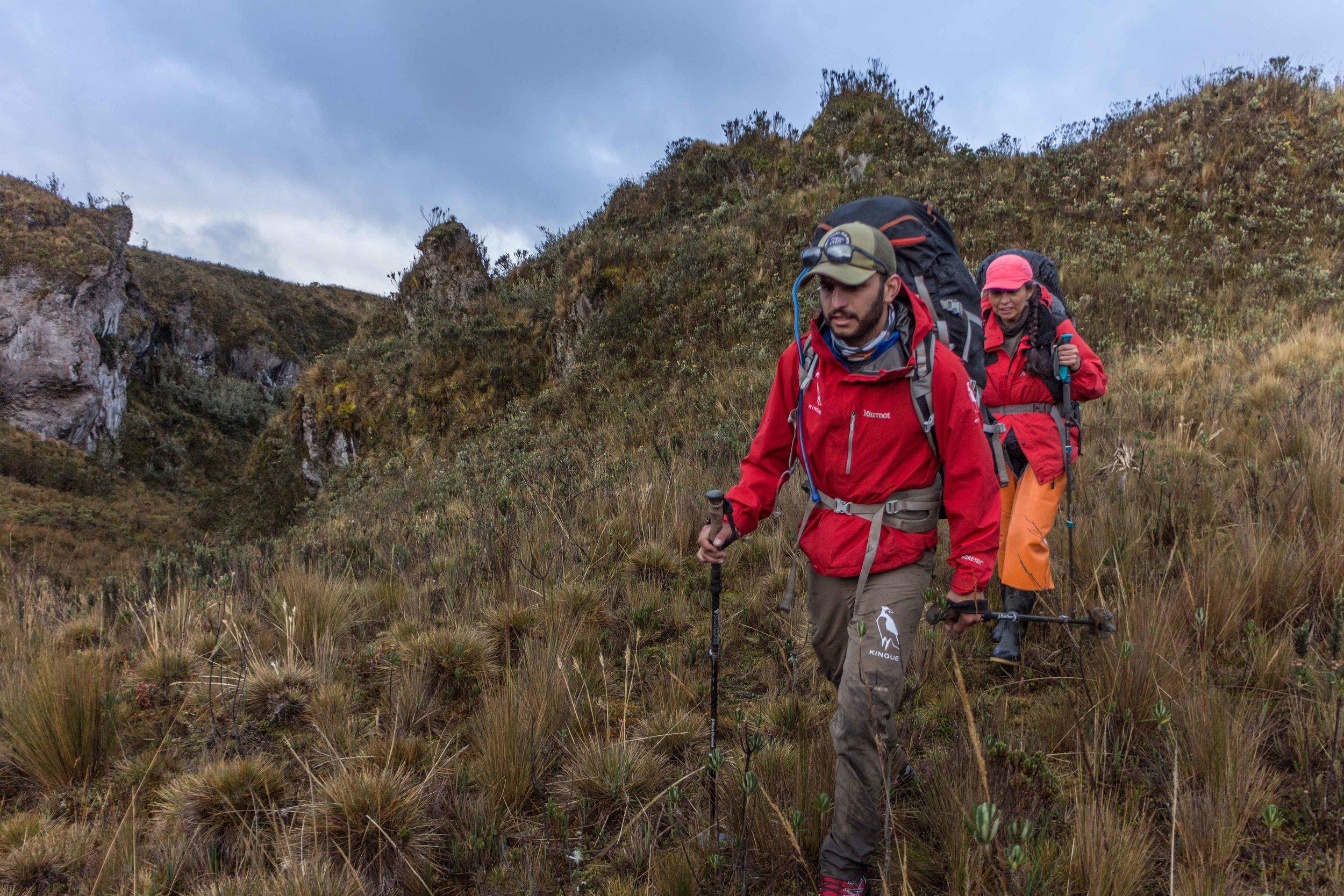 ecuador andes trail
