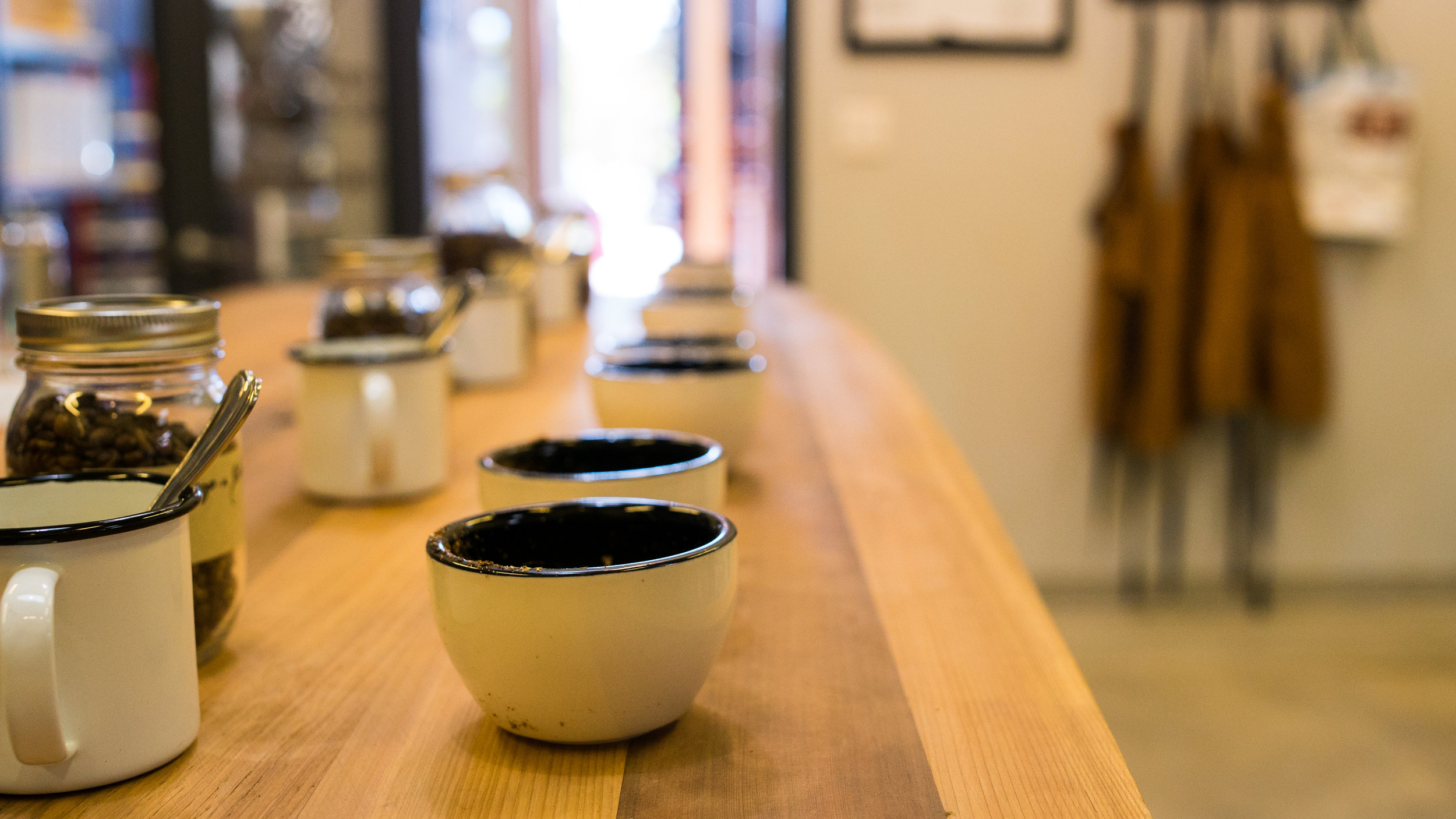 Our public cupping events often book up… so we created a separate opportunity for groups of 4-8 people to enjoy the process all to themselves! These events are great for friends & family visiting town, perfect for anyone interested in learning more about coffee, or just enjoying it.