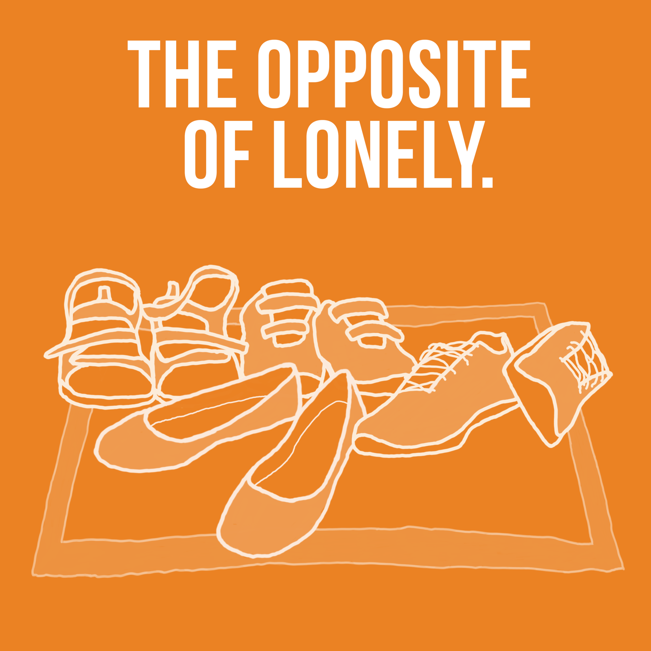 "The Opposite Of Lonely.  Who are ""your people""? Where is everyone hanging out? What puts the quality in quality time? Come join Nadia and friends as they chat about social connectedness.    14. Asking Deep Questions."