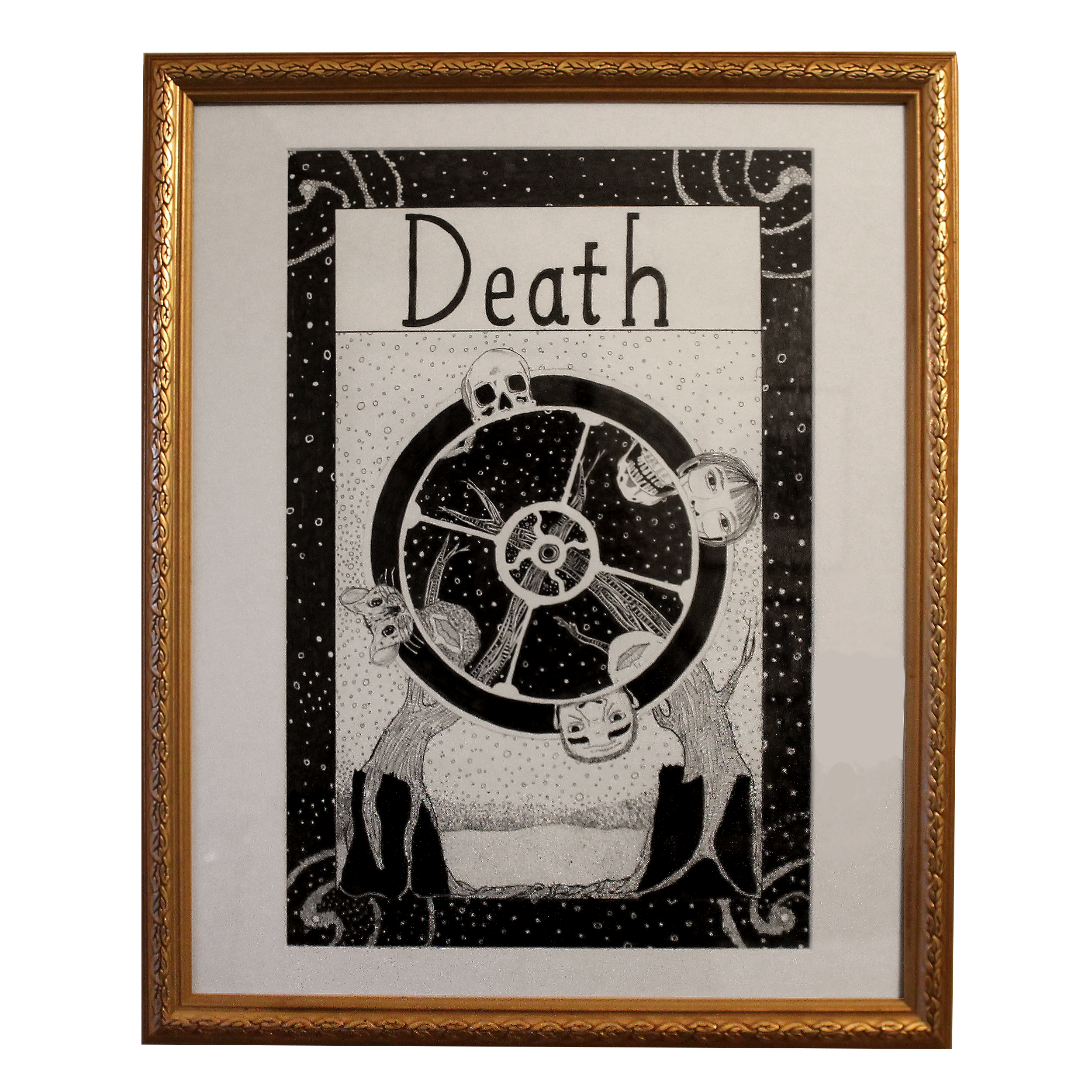 Original Framed Art $300. Click on the image to purchase on Ghost Gallery's Shop