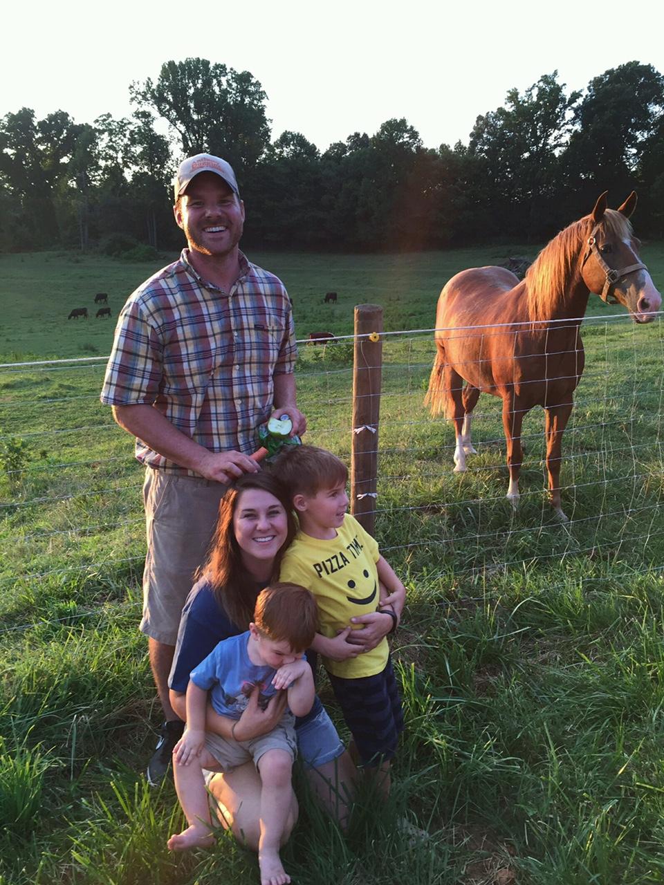 family farm in NC