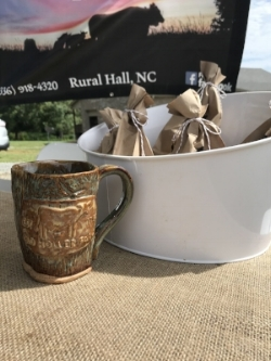 community farm event at Old Holler Farm in Rural Hall, NC