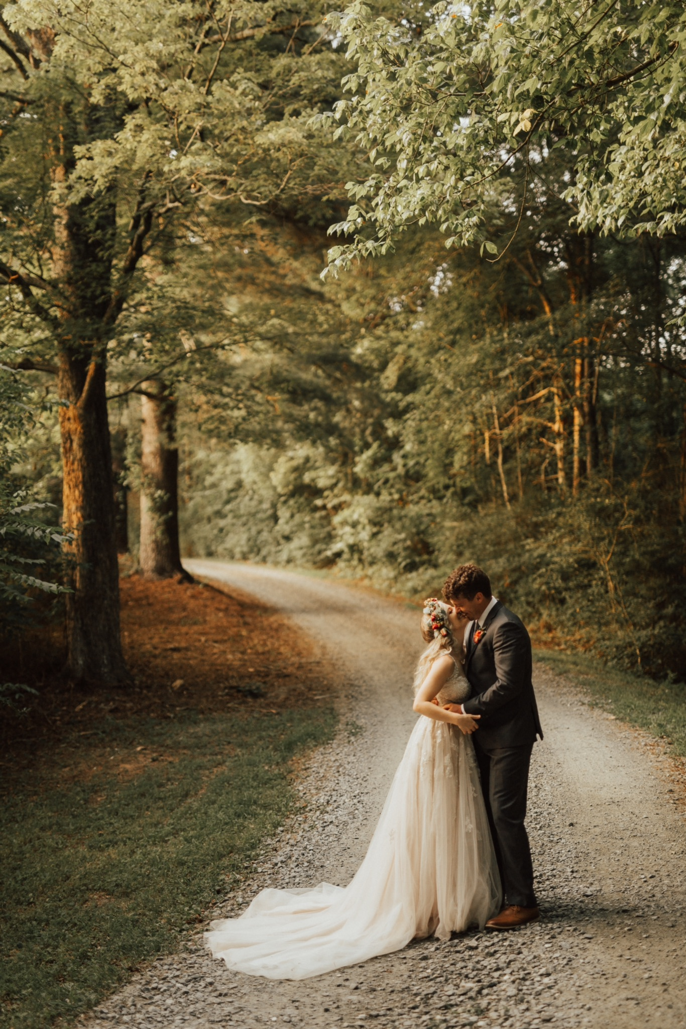 wedding at the historic venue at old holler farm in nc
